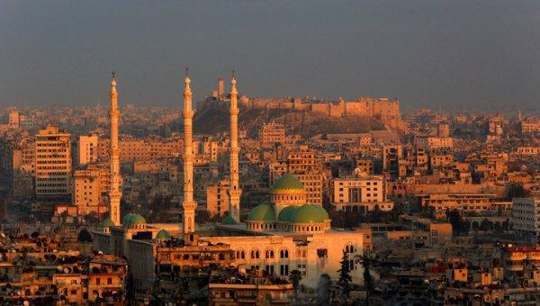 Исторические здания Алеппо находятся под защитой сирийской армии.