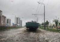 В Татарстане ливни привели к потопам (ФОТО)