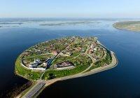 В Татарстане затопило 2 моста через Свиягу (ВИДЕО)