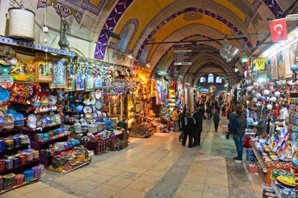 стамбульский базар Капалы-Чарши