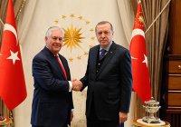 Эрдоган провел переговоры с Госсекретарем США