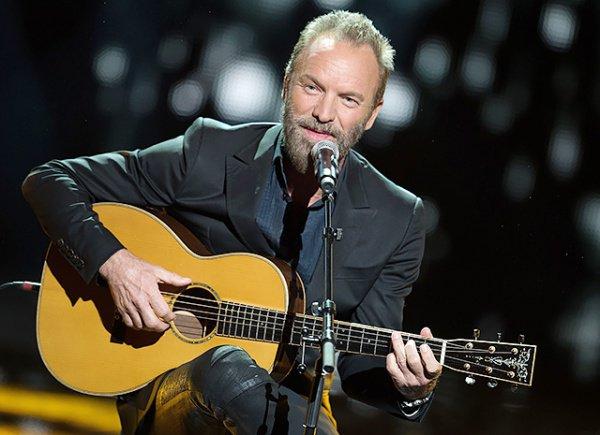 Получивший Polar Music Prize музыкант Стинг отдал валютную премию беженцам Швеции