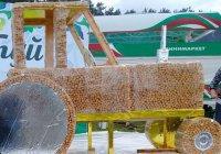 Трактор из бавырсака сделали на Сабантуе в Альметьевске (ФОТО)