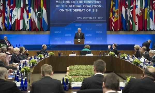Совещание коалиции по борьбе с ИГИЛ, Вашингтон.
