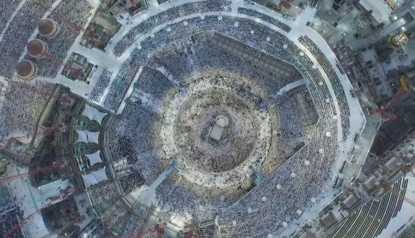 Невероятные фото мечетей с дронов