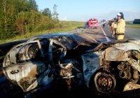 Из-за ДТП, взрыва и пожара на М7 в РТ пострадали 5 человек