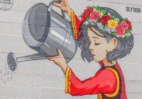 30-метровая граффити-девочка на «Тасме» получила имя