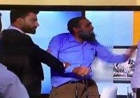 На ливанском телевидении подрались сторонник и противник Асада (Видео)