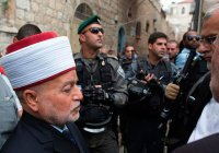 Израильская полиция арестовала муфтия Иерусалима