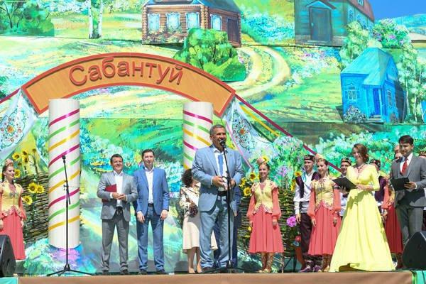Сабантуй олицетворяет все богатство татарских традиций и культуры