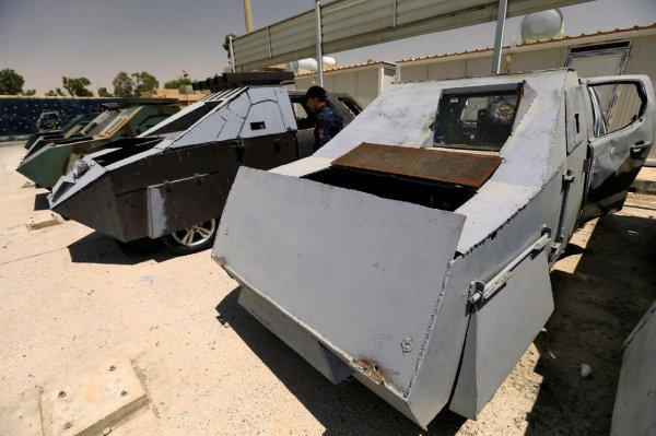 Выставку «джихад-мобилей» ИГИЛ открыли в Ираке (Фото)