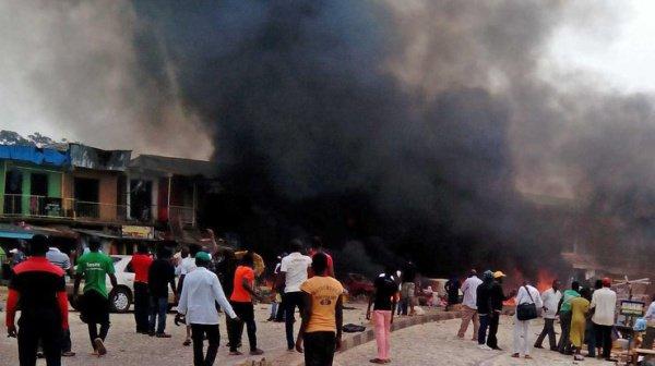 Теракт в Нигерии.
