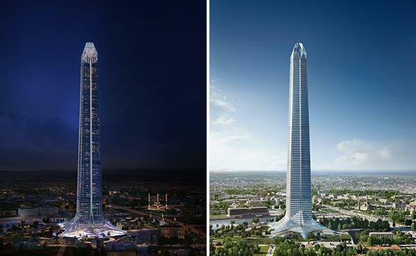 В Грозном строят самый высокий в Европе небоскреб