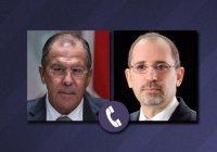 Лавров обсудил урегулирование в Сирии с главой МИД Иордании