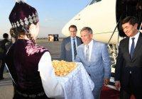 Рустам Минниханов прибыл в Киргизию с 2-дневным визитом