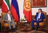 Рустам Минниханов в Бишкеке встретился с президентом Киргизии