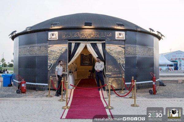 Выставку покрывала Каабы открыли в Мекке (Фото)