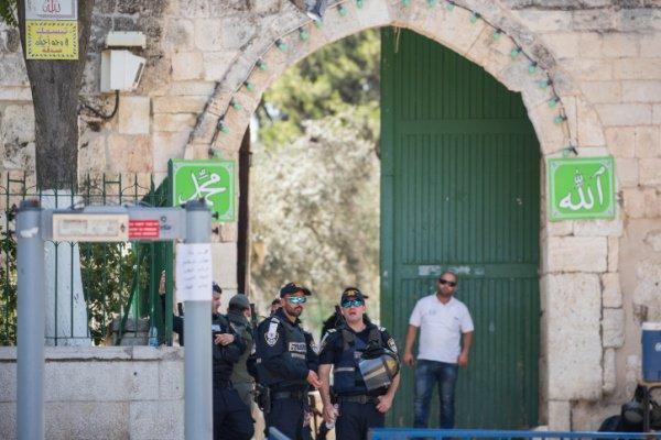 Обстановка в исторической части Иерусалима остается напряженной.