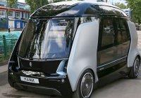 Медведев прокатился на беспилотном микроавтобусе КАМАЗа