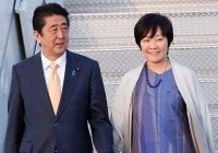 На встрече с Трампом жена премьера Японии притворилась, что не знает английский