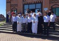 Муфтий РТ принял участие в праздновании VIII Всероссийского сельского Сабантуя