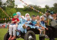Более 5 тысяч гостей собрал республиканский детский мусульманский Сабантуй