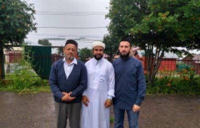 Татарстанскую мечеть посетил шейх из Марокко