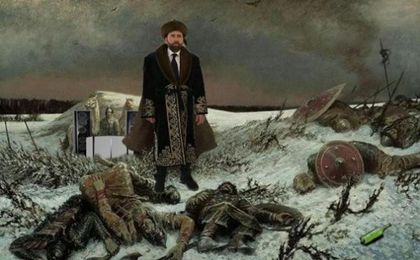 Визит в Астану сделал Николаса Кейджа героем мемов (Фото)