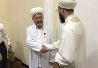 Камиль хазрат Самигуллин встретился с муфтием Узбекистана