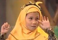 Незрячая девочка, читающая Коран наизусть, растрогала сердца миллионов
