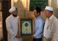 Муфтий РТ посетил легендарное Бухарское медресе Мир-и Араб