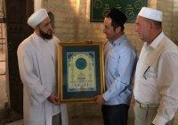 Муфтий РТ в Бухаре почтил память великих исламских ученых