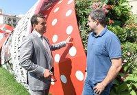 Мэр Казани посетил «Цветочный фестиваль»