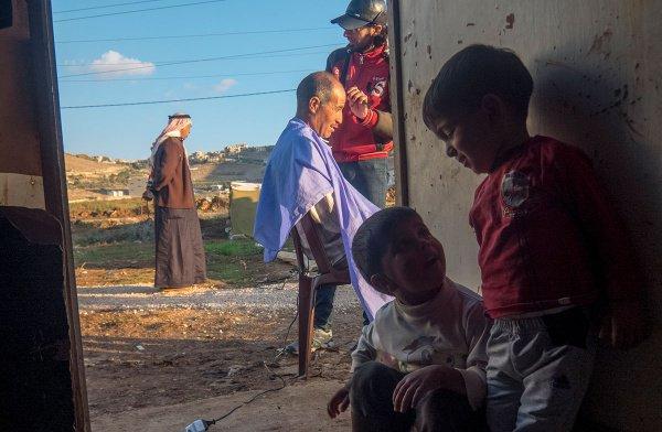 Сирия глазами незрячего фотографа