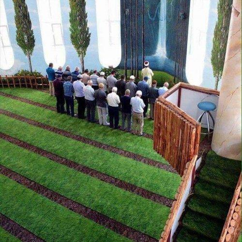 Мечеть по мотивам аятов суры