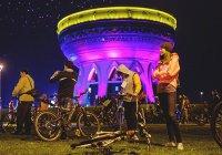 Опубликован маршрут «Ночного велофеста» в городе Казани