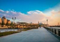 На Кремлевской набережной в Казани появится сквер