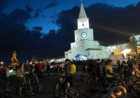 «Ночной велофест» в Казани собрал 5000 участников