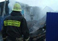 В Башкирии – траур после пожара, унесшего жизни 9 человек (Видео)