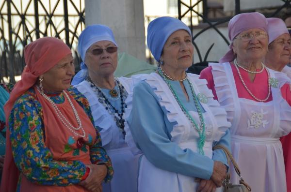 Фоторепортаж с Международного фестиваля фольклора «Тугэрэк уен»