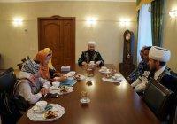 Муфтий Татарстана встретился с делегацией из Индонезии (Фото)
