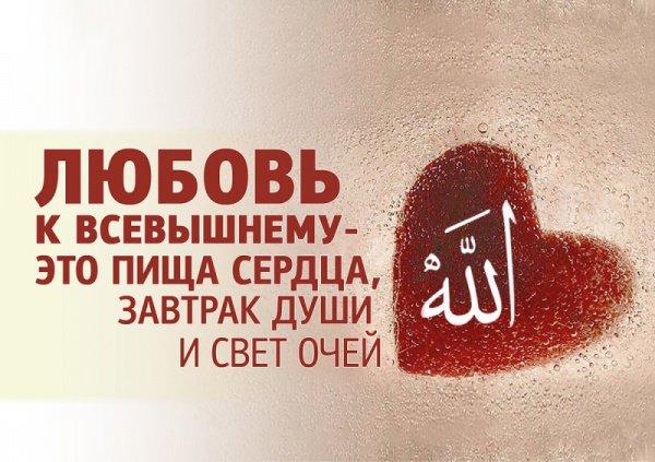 «Тех, кто уверовал и совершал благие деяния, Милостивый одарит любовью»