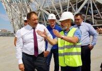 Алексей Песошин осмотрел стадион ЧМ-2018 в Волгограде