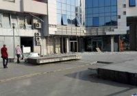Мощный взрыв в столице Черногории