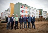 Мэр Казани посетил школу XXI века