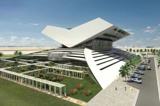 Библиотека обещает стать крупнейшей на Ближнем Востоке.