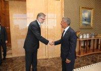 Минниханов встретился с послом Швеции в России