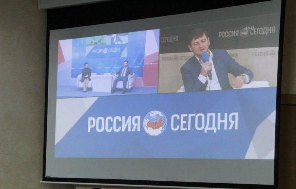 Видеомост Москва - Казань - Симферополь.