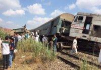 В Египте столкнулись 2 поезда
