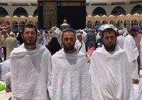 Трое россиян приехали в Мекку на велосипедах